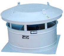 Вентиляторы крышные радиальные ВКО