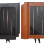 Черепица с солнечными фотоэлементами