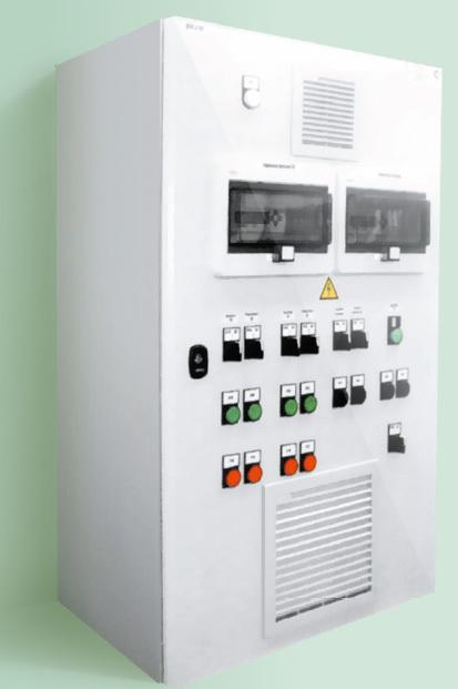 Шкафы управления технологическими процессами и щиты автоматизации