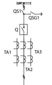 Схема КСО 298