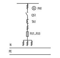 Однолинейная схема ЩО 70 1 04